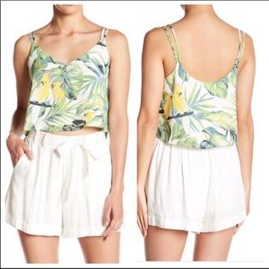 June & Hudson from Nordstrom, cropped tank, XL